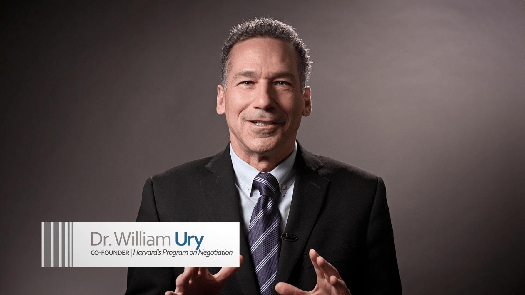 Dr. William Ury