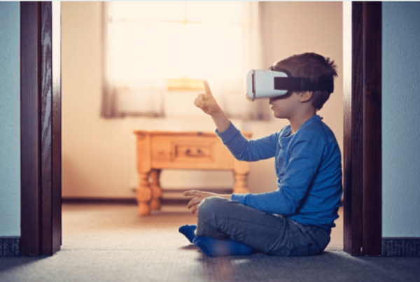 Kids with VR Technology